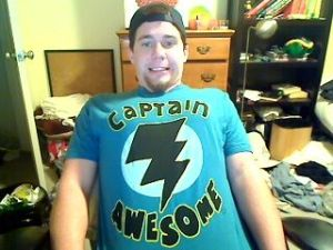 That's MY Captain Awesome!